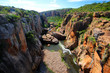 Quadro Blyde River Canyon at Bourke's Luck Potholes viewpoint, Mpumalanga district, South Africa