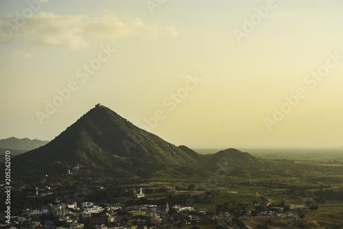 Plexiglas Beige pushkar landscape india