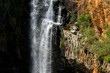 Detail of the Berlin Falls in the Blyde River Canyon area, Mpumalanga district of South Africa