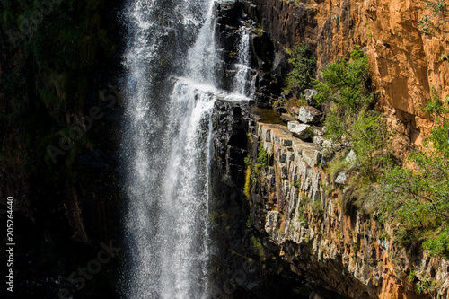 Fotobehang Berlijn Detail of the Berlin Falls in the Blyde River Canyon area, Mpumalanga district of South Africa
