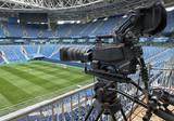 tv camera in the football - 205283823