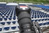 tv camera in the football - 205284053