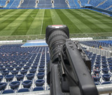 tv camera in the football - 205284636