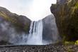 Skogafoss waterfall, Iceland - 205288846