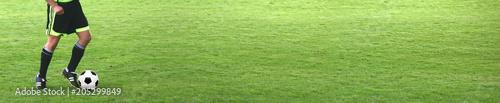 Ball auf dem Fussballplatz - 205299849