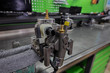 fuel pump on repairs, close up