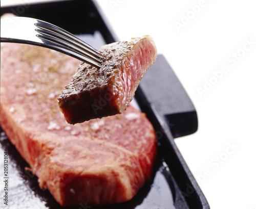 Fotobehang Steakhouse ステーキ
