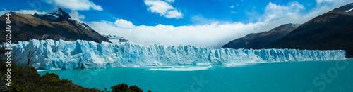 Glacial Geleira de Perito Moreno Patagônia