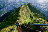 The Stairway to Heaven, Haiku Stairs, Oahu, Hawaii, The USA