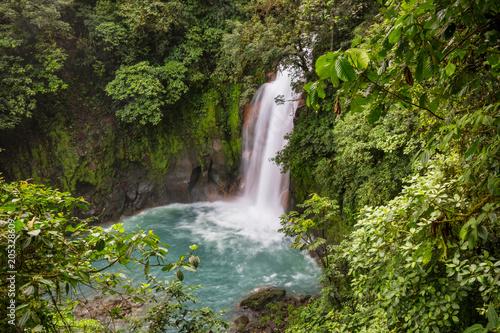Plexiglas Galyna A. Waterfall in Costa Rica