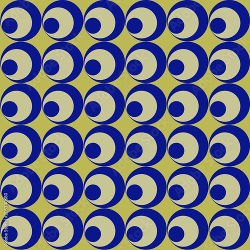 Serie Di Cerchi Blu Su Sfondo Oro Buy Photos Ap Images Detailview