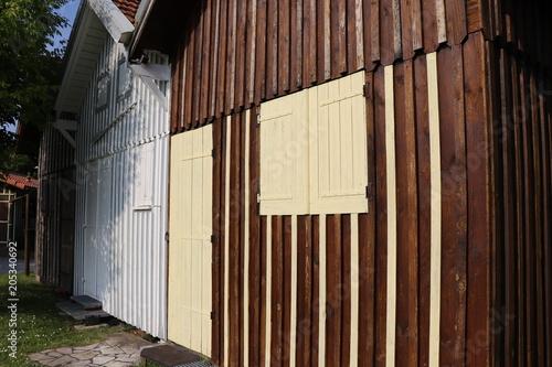 Oyster kabina arcachon basenu port biganos