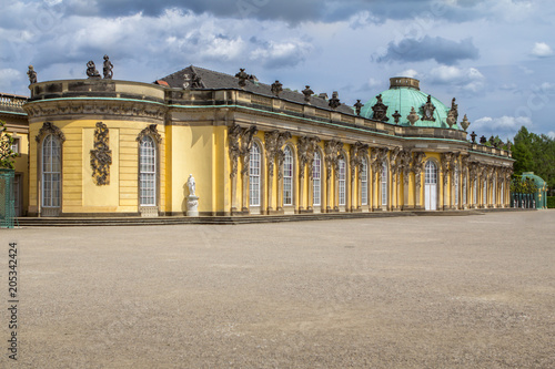Palace of Sanssouci in Potsdam, Germany