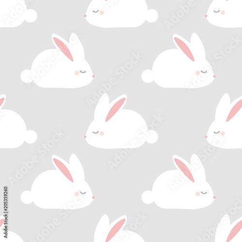 Poster Sleepy bunny