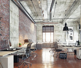 modern coworking office - 205364854