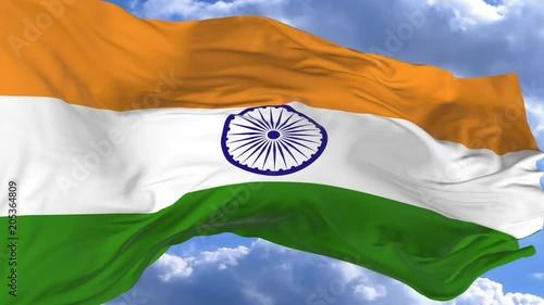 Флаг - Индия