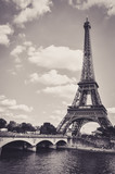 The Eiffel Tower : a Famous Iron Sculpture, Symbol of Paris