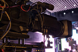 tv camera in a concert hall - 205370221