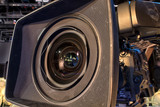 tv camera in a concert hall - 205371826