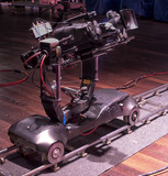 tv camera in a concert hall - 205372492