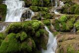 Cascadas de la Tobería en la sierra de Entzia, Euskadi, España - 205372688