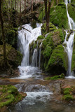 Toberia Waterfalls at Entzia mountain range, Alava, Spain