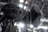 tv camera in a concert hall - 205373088
