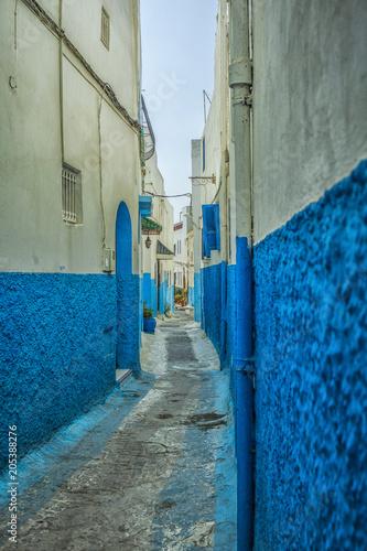 Plexiglas Marokko Street in de medina