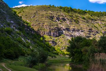 Old Orhei (Vechi) famous travel destination in Moldova