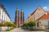 Wroclaw Cathedral of St. John the Baptist, Cathedral Island, Ostrow Tumski, Poland.