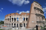 The coloseum, the most visited landmark of Rome Italy. - 205400633