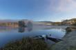 Quadro Cold misty morning