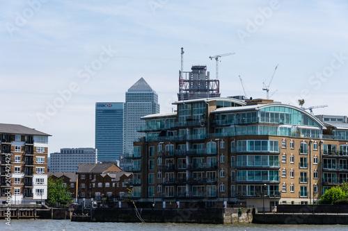 London Skyline with Canary Wharf