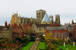 cathedral of york - view from wall of old town