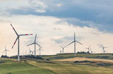 Wind turbines in Italy