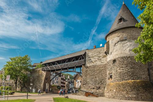 canvas print picture Stadtbefestigung Andernach am Rhein