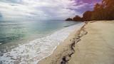 Beautiful Tropical Beach and Clear Sea Water