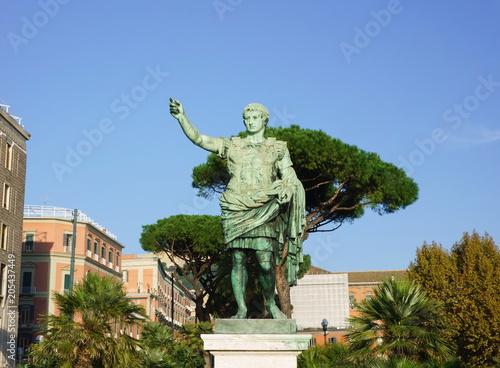 Plexiglas Napels Statue of Caesar of Naples