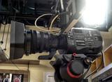 tv camera in a studio - 205446681