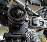 tv camera in a studio - 205446895