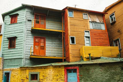 Fotobehang Buenos Aires La Boca neighborhood of Buenos Aires argentina