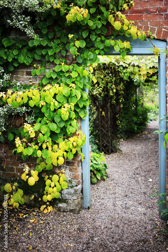 Poster walled garden