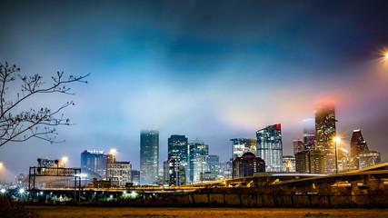 Foggy Houston Night © Truong