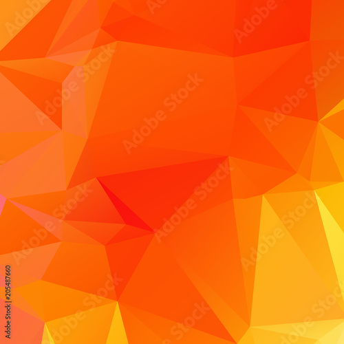 Abstract orange polygon texture