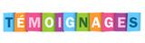Icône TEMOIGNAGES - 205491601