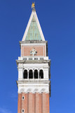 bell tower of the Saint Mark in Venice