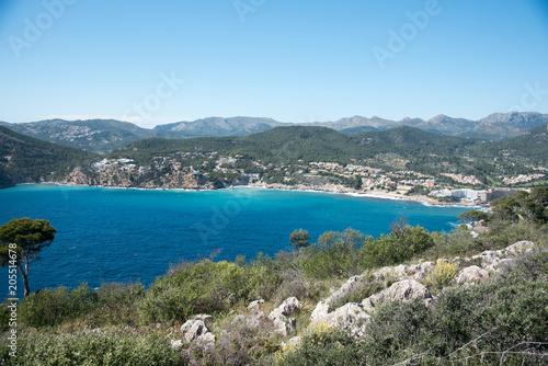 Aluminium Khaki Bucht Camp de Mar Mallorca