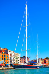 Waterfront in Venice