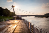 Bridge of Slovak National Upraising, Bratislava, Slovakia