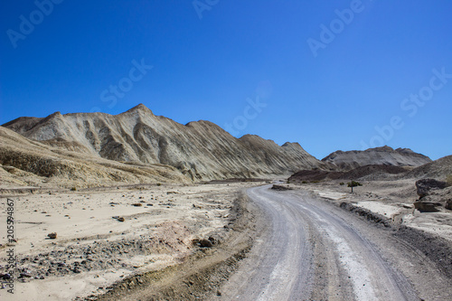 Zdjęcie XXL Desert Hills and Mountains Road
